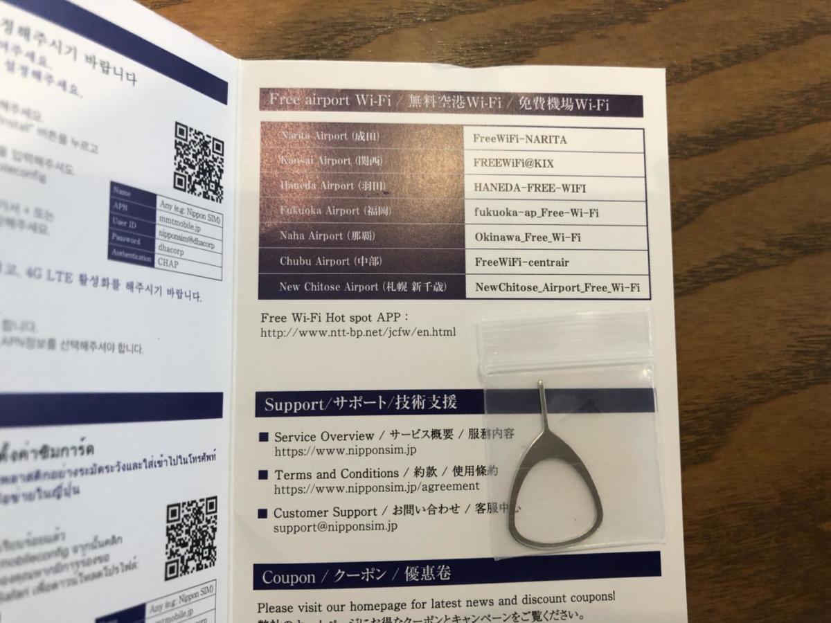 Nippon SIM for Japan