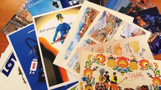 【無料】ポーランドから皆さまへポストカードをお送りします!